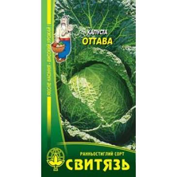 Капуста савойська Оттава, 0,5 г фото 1