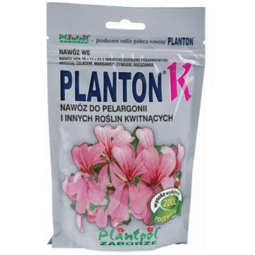 Добриво мінеральне Planton К Для пеларгоній та квітучих, 200 г фото 1
