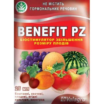 Удобрение минеральное Benefit PZ, 25 мл фото 1