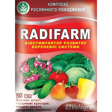 Добриво мінеральне Radifarm, 25 мл фото 1