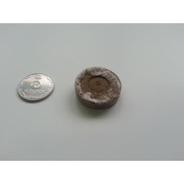 Таблетка JIFFY торфяная, 33 мм фото 1