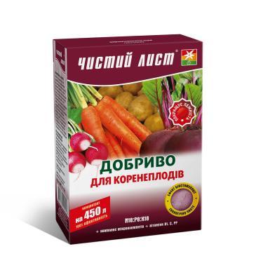 Добриво мінеральне Чистий лист Для коренеплодів  N18:P8:K18 300 г фото 1