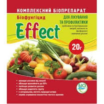 Біофунгіцид Effect Лікар рослин, 20 г фото 1