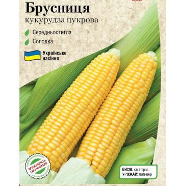 Кукуруза сахарная Брусника, 5 г фото 1