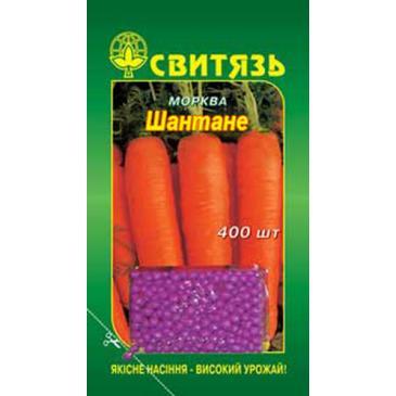 Морковь столовая дражированная среднеспелая Шантане, 400 сем. фото 1