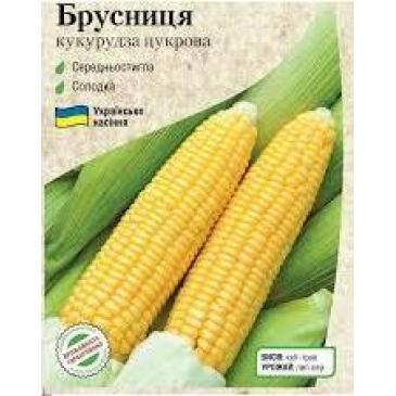 Кукуруза сахарная Брусника, 100 г фото 1