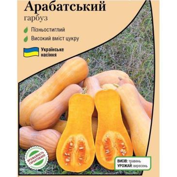 Гарбуз овочевий Арабатський, 2 г фото 1
