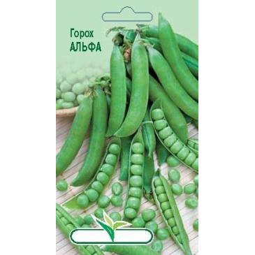 Горох овочевий Альфа, 10 г фото 1